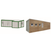 Linie prelucrare lapte SNK500, Container
